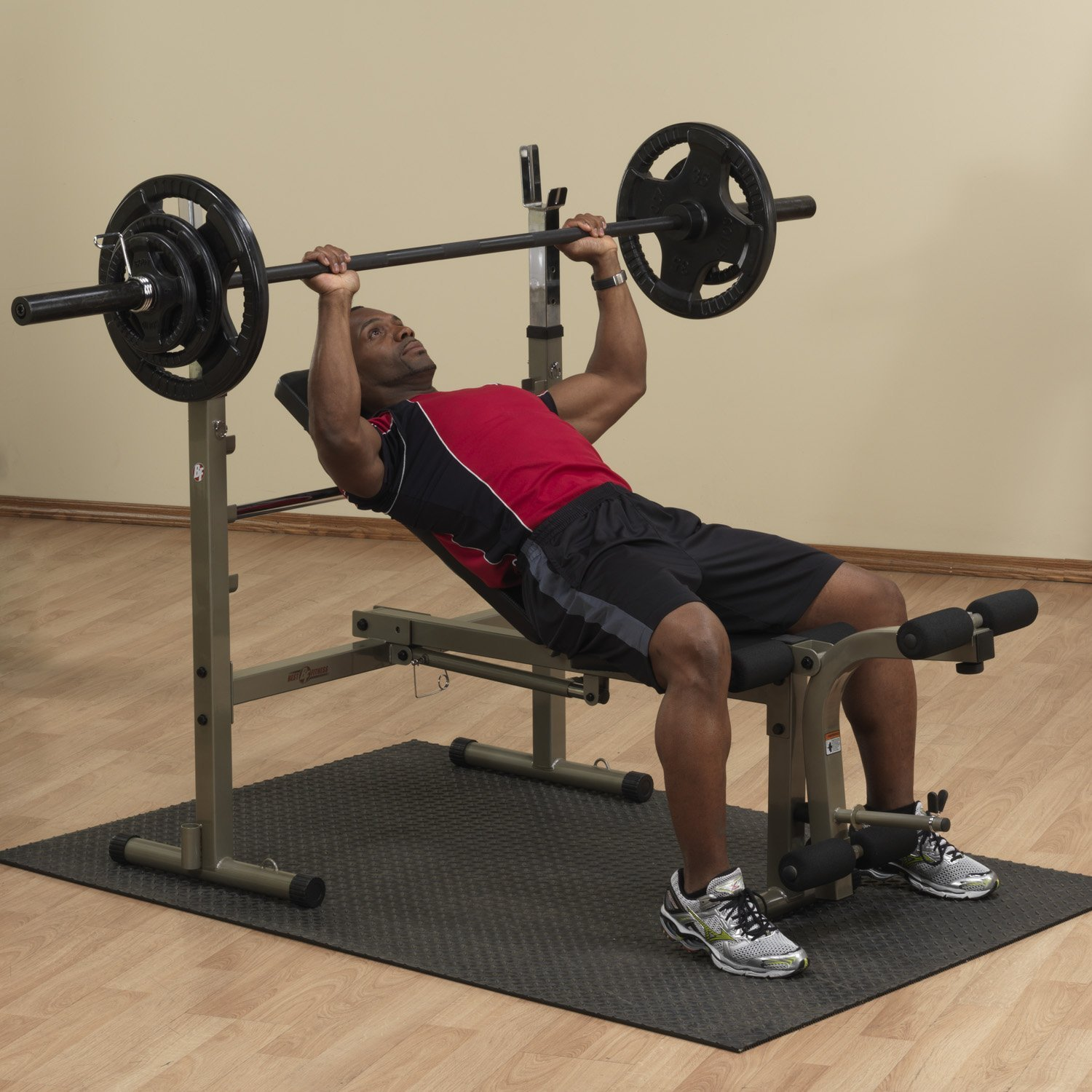 Best Fitness Bfob10 Olympic Bench Review