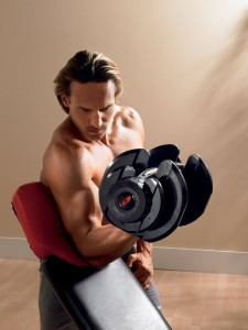 Bowflex SelectTech 1090 Adjustable Dumbell
