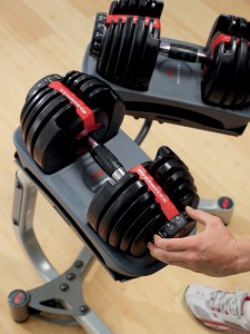 Boxflex SelectTech 552 Adjustable Dumbells