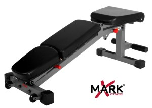 XMark Fitness Commercial Rated Adjustable Dumbbell Bench