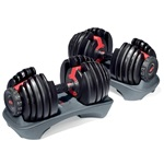Boxflex SelectTech 552 Adjustable Dumbells (table)