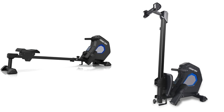 Merax Indoor Magnetic Folding Rowing Machine